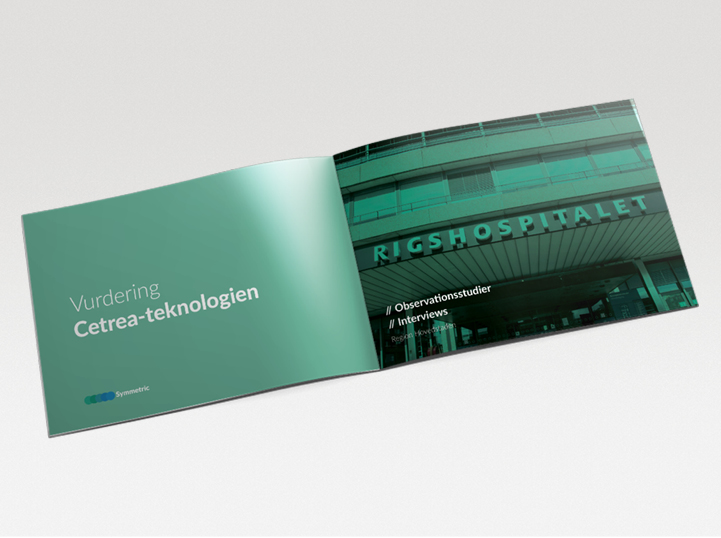 Region Hovedstaden: Vurdering af Cetrea-teknologien