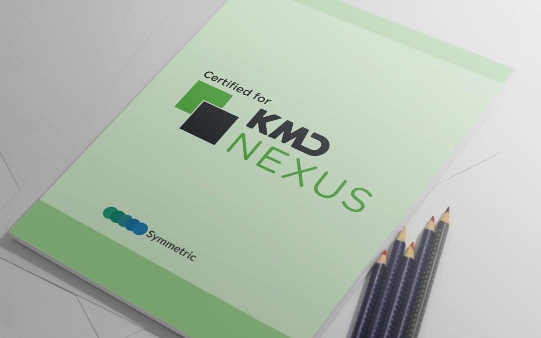Symmetric er nu KMD Nexus certificeret
