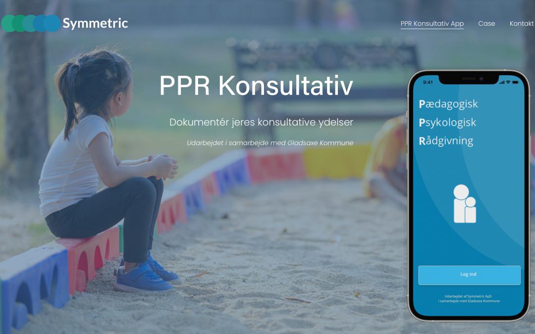 Symmetric lancerer PPR Konsultativ app